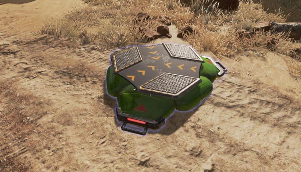 Les pads de saut apparaissent dans Apex Legends