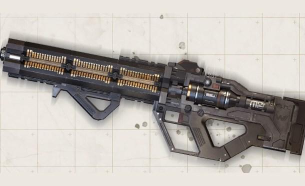 La nouvelle arme d'Apex Legends est un fusil d'assaut à énergie avec mode de frappe par balayage