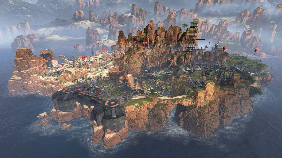Carte Apex Legends: niveaux de butin pour chaque lieu