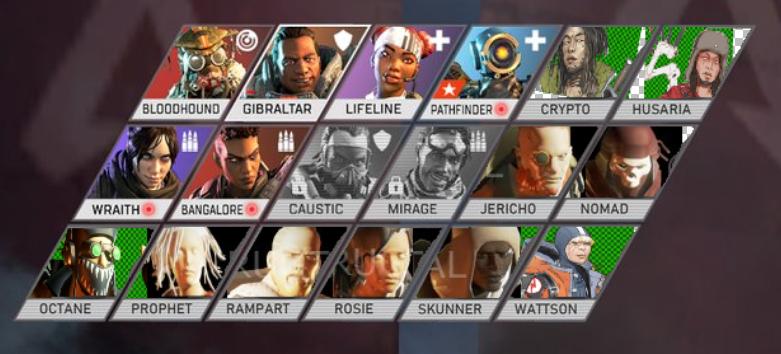 Nouveaux personnages Apex Legends révélés dans datamine