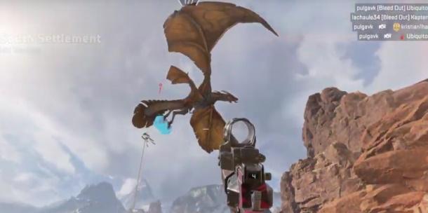 Les dragons apparaissent dans Apex Legends et volent des boîtes de mort