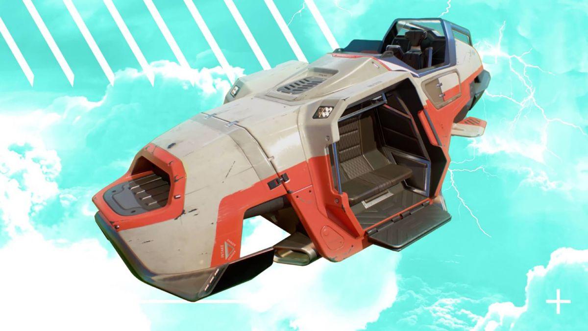 Les nouveaux hovercars Trident d'Apex Legends ont pris leur envol
