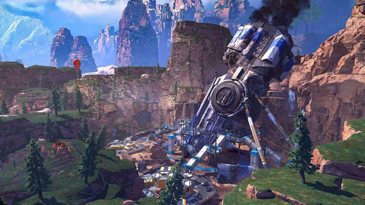 Carte Apex Legends Saison 8: nouvelles zones de largage, prises explosives et plus
