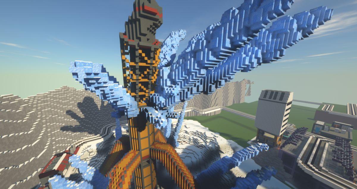 Apex Legends recréé dans Minecraft semble impressionnant