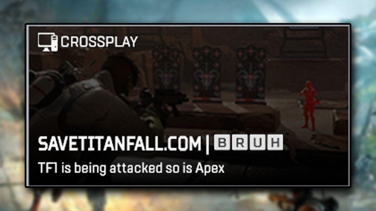 Apex Legends piraté pour protester contre les piratages du serveur Titanfall