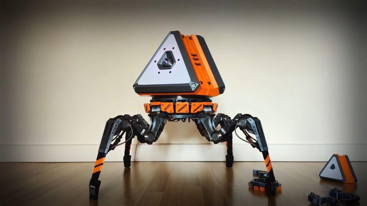 Un ingénieur construit un robot de butin Apex Legends qui marche réellement